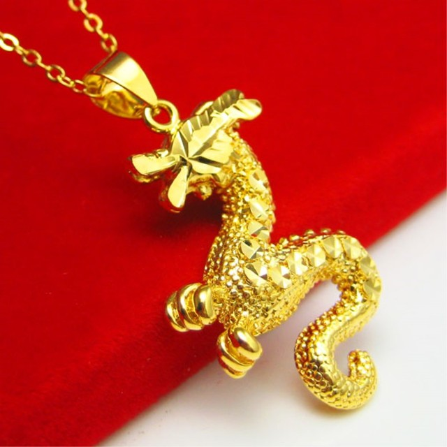 Exquisite 24k dragon pendant for men and women 11 quality handmade exquisite 24k dragon pendant for men and women 11 quality handmade in hongkong gold aloadofball Choice Image