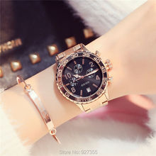 Women Quartz Six-pin Retro Big Dial Waterproof Watch (4 colors)