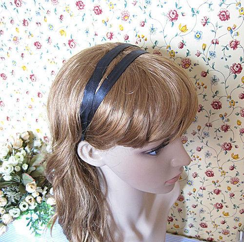 Westem Style Solid GrilWomen's Hair Accessory  Fashion  Headbands Prtty Hairbands Black