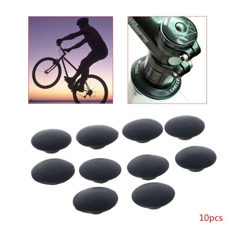 10 Pack Rubber Waterproof Dustproof Bike Bicycle Headset Cover Screw Caps