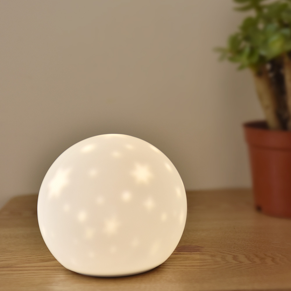HZFCEW USB Variety Star Projector Lamp Silicone Night Light 3 Modes Atmosphere Light Night Lamp Moon Light FR369