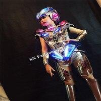 MD09 Костюмы для бальных танцев Танцы LED костюмы женщины одеваются светодиодные яркая одежда этап модели носит бар DJ Показать бар костюмы пик...