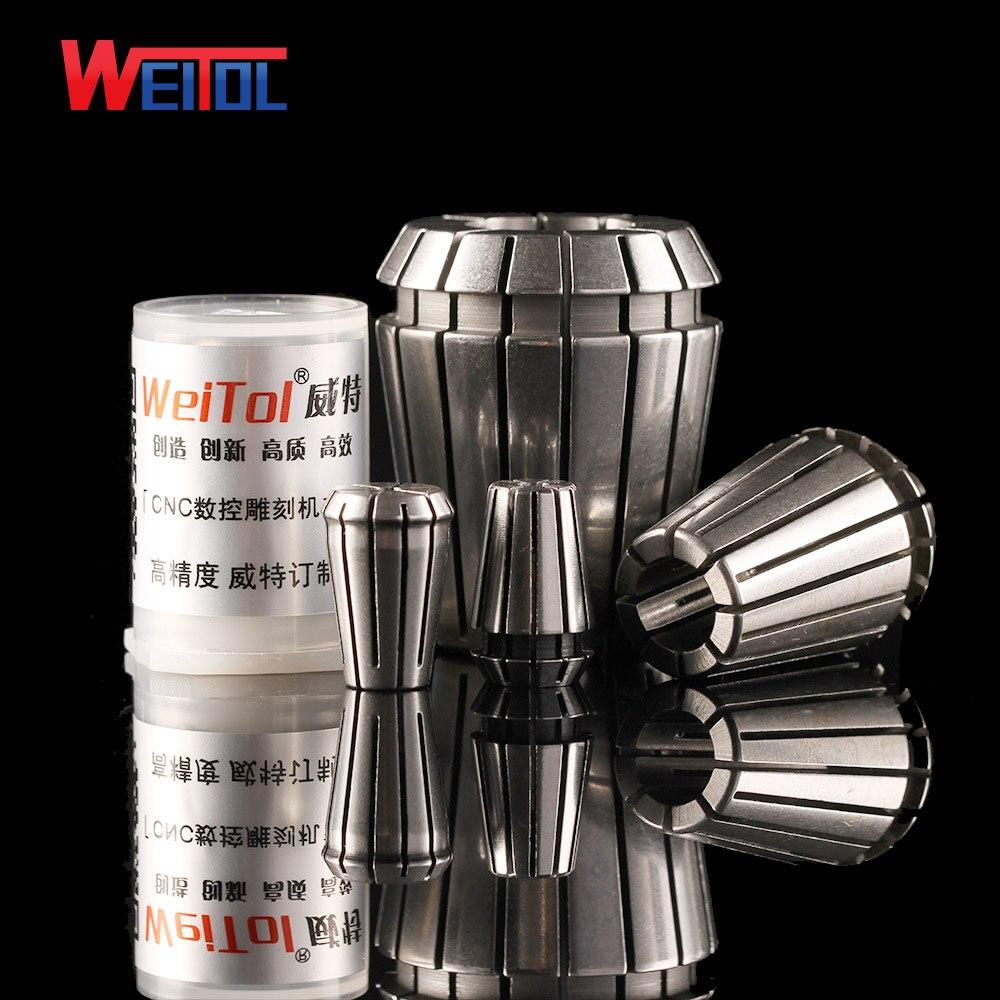 Weitol Livraison gratuite 1 pc Haute-précision ER16 6-10mm ER collet chuck ER collet de printemps pour fraise CNC porte-outil