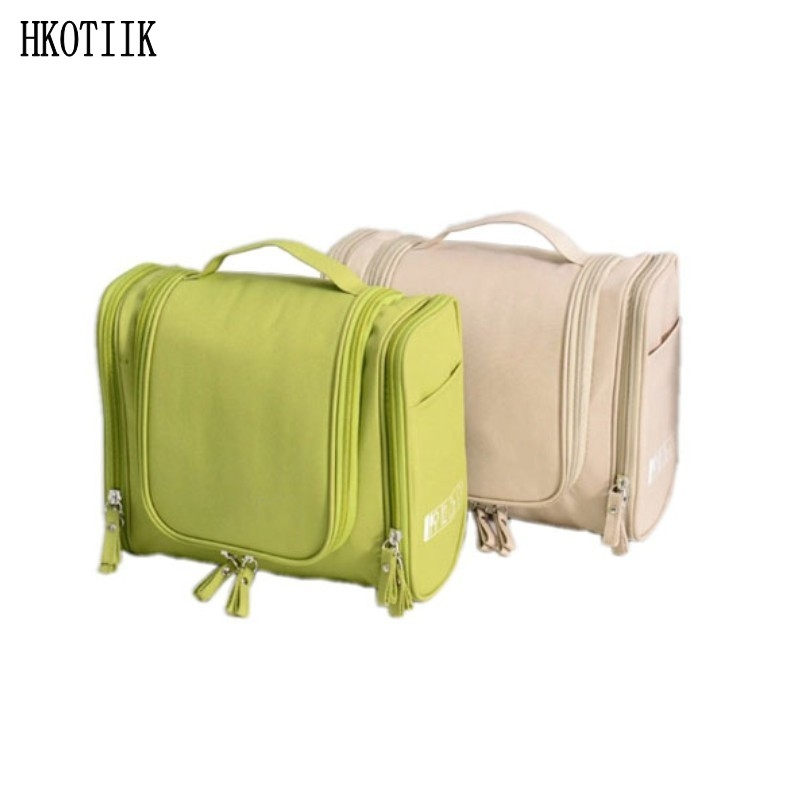 Travel high quality travel cosmetics bags large capacity cosmetics organizers multi functional hanging bag cosmetic bag