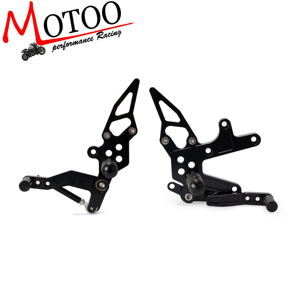 Motorcycle CNC GP shift Rearsets Pedal Footrest Pegs For KAWASAKI Ninja 400 NINJA400 EX400 2018 foot set Rear SetMotorcycle CNC GP shift Rearsets Pedal Footrest Pegs For KAWASAKI Ninja 400 NINJA400 EX400 2018 foot set Rear Set
