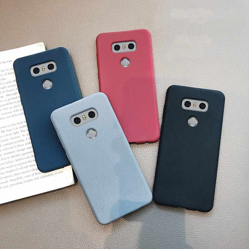RHOADA Pure Color Soft TPU Case For LG G6 Ultra-thin Slim Silicone Solid Skin Rubber Back Cover Cases G6 5.7''Matte Couqe Fundas