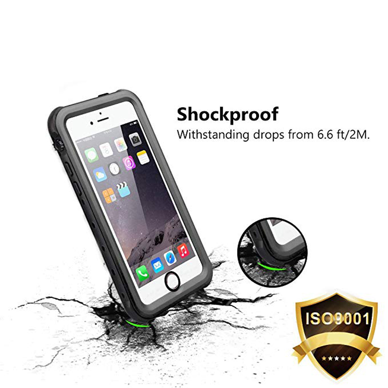 Redpepper Sealed Waterproof Case For iPhone 5 5S SE Shockproof case (3)