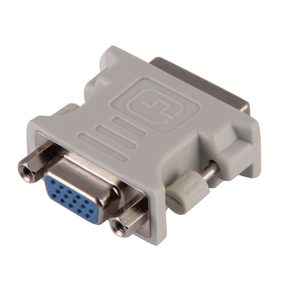 DVI To VGA Adapter DVI-I Male 24+5 Pin To VGA Female Video Converter Adapter DVI To VAG M/F Connector For LCD HDTV Monitor