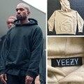 Más nuevo Desgaste de La Calle de Hip Hop Hombres Sudadera Con Capucha Yeezys Yeezy Temporada 1 Ropa Para Hombres Kpop Ropa de Gran Tamaño Sudaderas Kanye West 3 colores