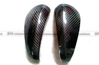 Carbon Fiber Mirror Cover Car styling Kit Fit For Caymans 987 Boxster S