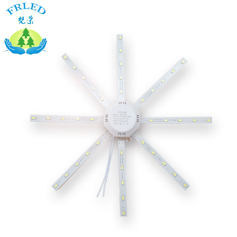 FRLED LED  Celling lamp Tube Energy Saving Lamp Bright White 5730 LED board Octopus Lights Replace Celling light source 9pcs lot t8 led tubes lights 4ft super bright 28w g13 fluorescent tube led bulb energy saving for existing wall lamps light