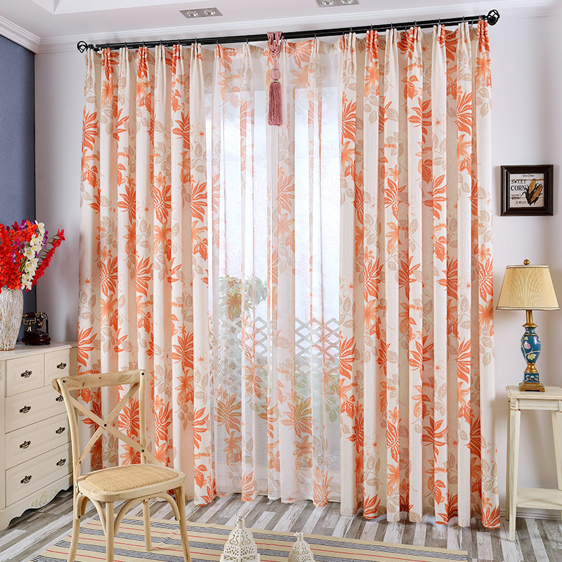 Popular Striped Orange Curtains Buy Cheap Striped Orange Curtains