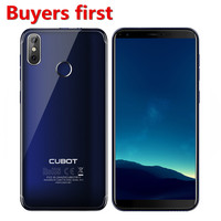 original Cubot R11 5.5'' 18:9+Screen RAM 2GB ROM 16GB Smartphone MT6580 Quad Core Android 8.1 Fingerprint 13.0mp mobile phone