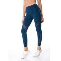 Free Shipping NWT Eshtanga Sports Tight Top Quality Women Yoga Capris 4 Way Stretch Fabric High