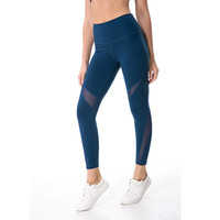 Free Shipping NWT Eshtanga Sports Tight Top Quality Women Yoga Capris 4 Way Stretch Fabric High