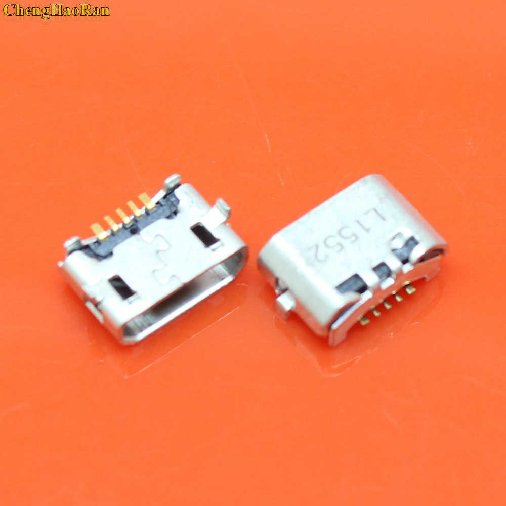 1x micro USB 5pin jack Reverse corno di Bue di Ricarica Porta Spina presa di connettore mini usb Per Huawei 4X Y6 4A p8 C8817 max Lite Pro