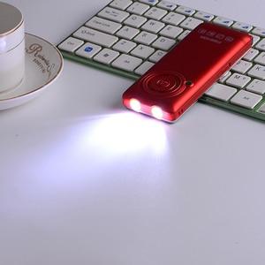 Image 4 - MAFAM разблокирована флип металлический держатель для мобильного телефона один ключ двойной факел FM Bluetooth SOS Скорость циферблат Whatsapp старика сотовый телефон последнего поколения P094