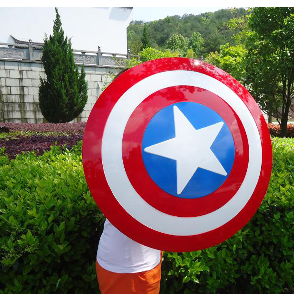 The Avengers Civil War Captain America Shield 1:1 1/1 Cosplay captain america Steve Rogers ABS model adult shield replica сумка nano de la rosa nano de la rosa na003bwppw35