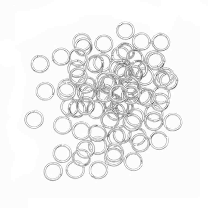 Fantastic 100PCS 4mm Open Jump Rings 21-Gauge DIY Jewelry Earrings Oorbellen Magnificent Jewelry Accessories Trinket Bijoux