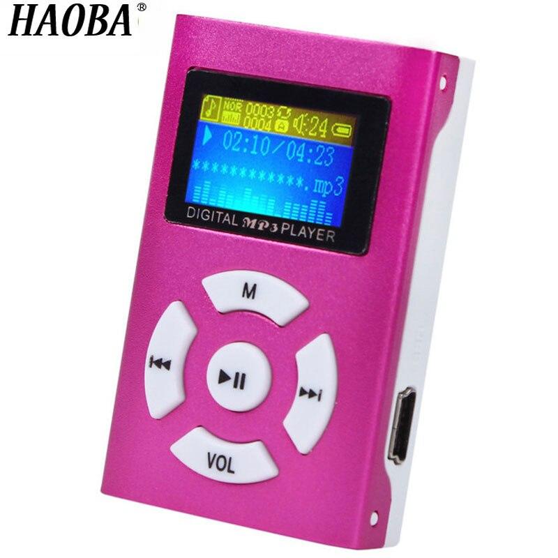 Hifi-geräte Sparsam Haoba Mp3 Player Mit Bildschirm Display Unterstützung Tf Karte High-definition-sound Qualität Ausgang Musik Mp3 Player Kostenloser Versand Durch Wissenschaftlichen Prozess