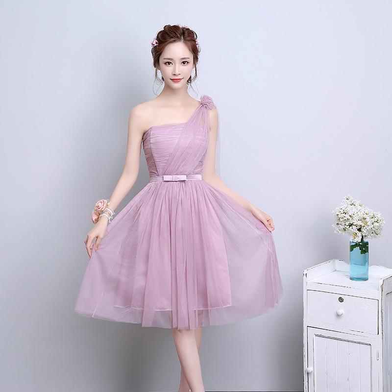 Bridesmaid Dresses Pink Brown - Flower Girl Dresses