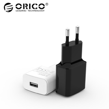 ORICO WHA Travel USB Charger 5V2A 5V1A EU Plug Mini Charger Adapter Smart Charger for Mobile Phone Tablet(China)