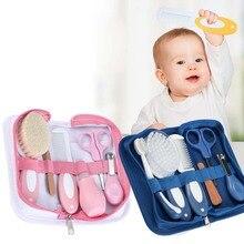 Уход за младенцем маникюрный набор Медицинский Набор машинка для стрижки ногтей зубная щетка расческа Эмери доска ножницы для ногтей