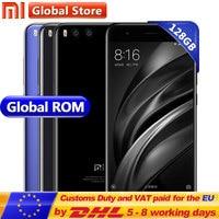 Original Xiaomi Mi6 Mi 6 128GB ROM 6GB RAM Android 7.1 Mobile Phone Snapdragon 835 Octa Core 5.15 12MP 1920*1080 Dual 3350mAh