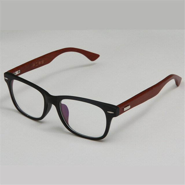 c4b6763f65c Stylish Handmade Wooden Glasses Frame Green Natural Wood Bamboo Eyeglasses  Frames Vintage Spectacle Frames Black Brown