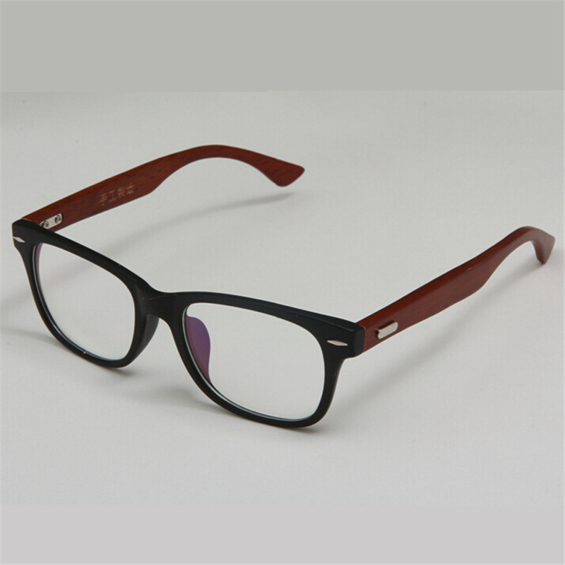 stylish handmade wooden glasses frame green natural wood bamboo eyeglasses frames vintage spectacle frames black brown