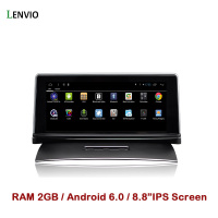 Lenvio RAM 2GB 8.8IPS 2 Din Android 6.0 CAR GPS DVD PLAYER For VW Volkswagen Touareg 2011 2012 2013 2014 2015 2016 stereo radio