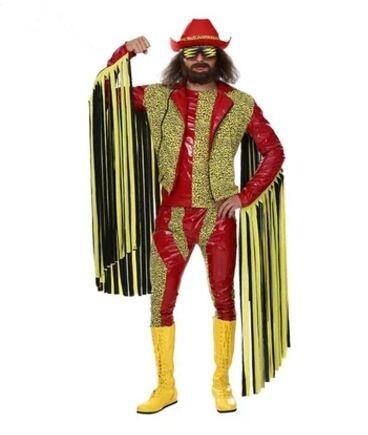 super macho man costume macho man costume halloween ...