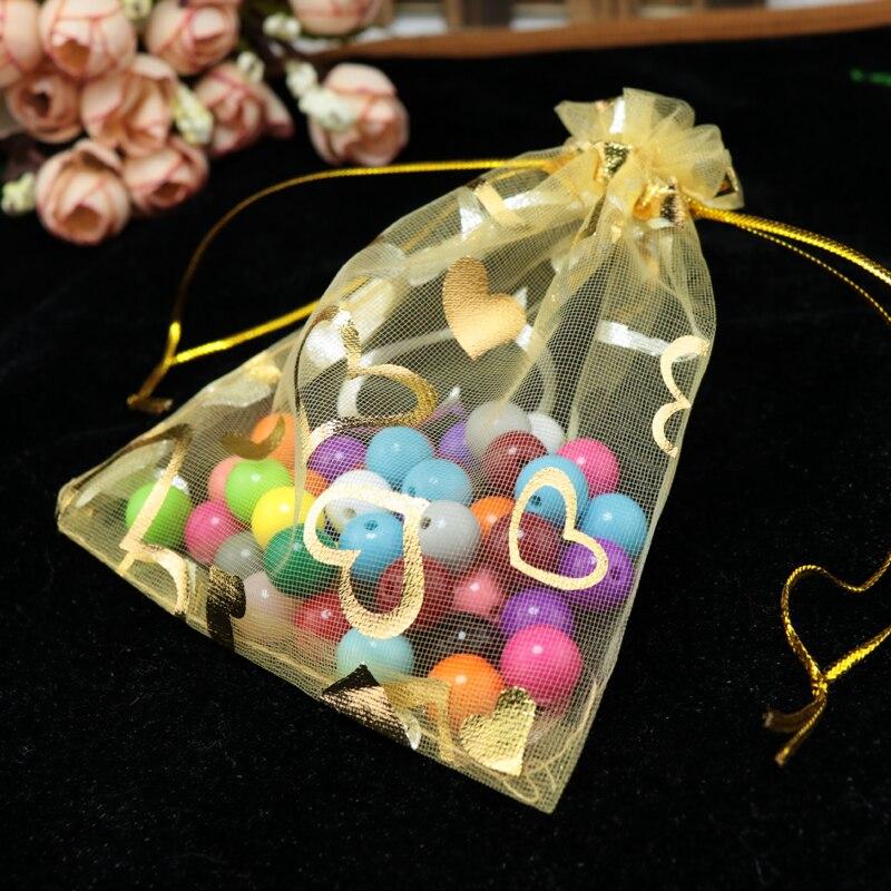 10 Teile/pakete 35x50 Cm Große Organza Beutel Hochzeit Geschenk Taschen Schmuck Beutel Weihnachten Schmuck Verpackung Display 6z Festliche & Party Supplies