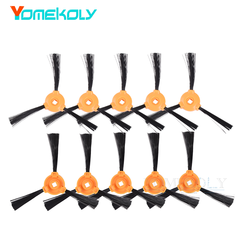 Replacement Side Brushes for Ecovacs DEEBOT N79 N79S Robotic Vacuum Cleaner Accessories Spare Parts puppyoo multifunctional robotic vacuum cleaner self charge sweep home collector suction led touch screen side brushes v m900r