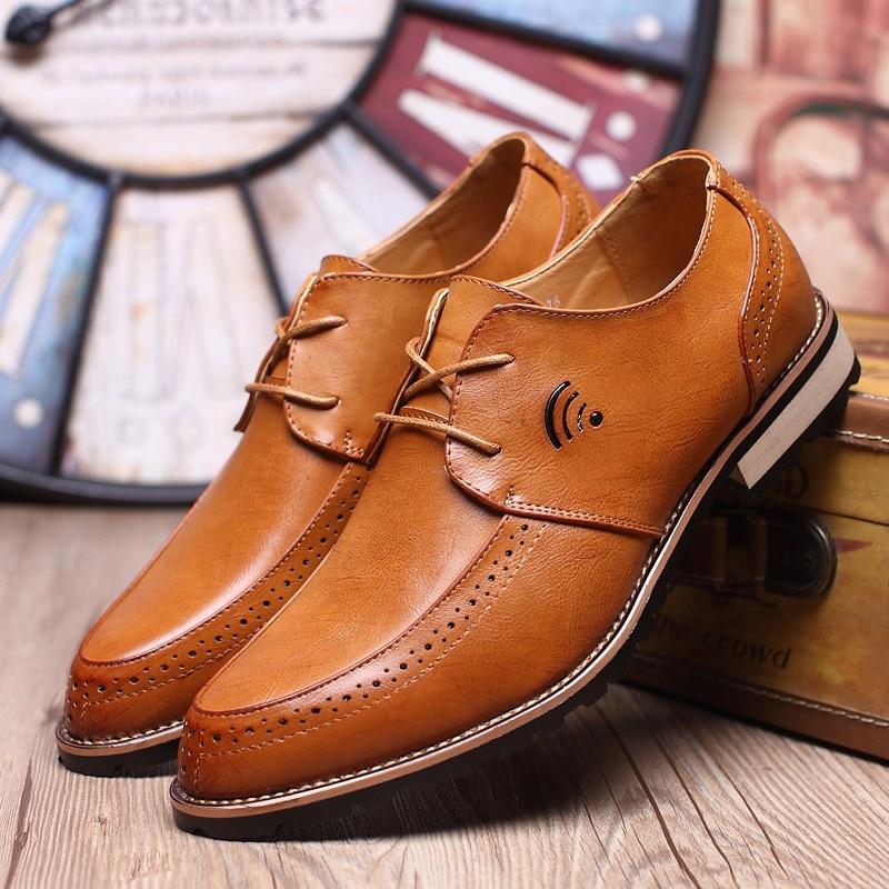 yellow En De Casual Chaussures Haute Robe Black Mpx8116262 Hommes Confortable Formelle red Qualité Cuir Printemps Marque qXA4naZ