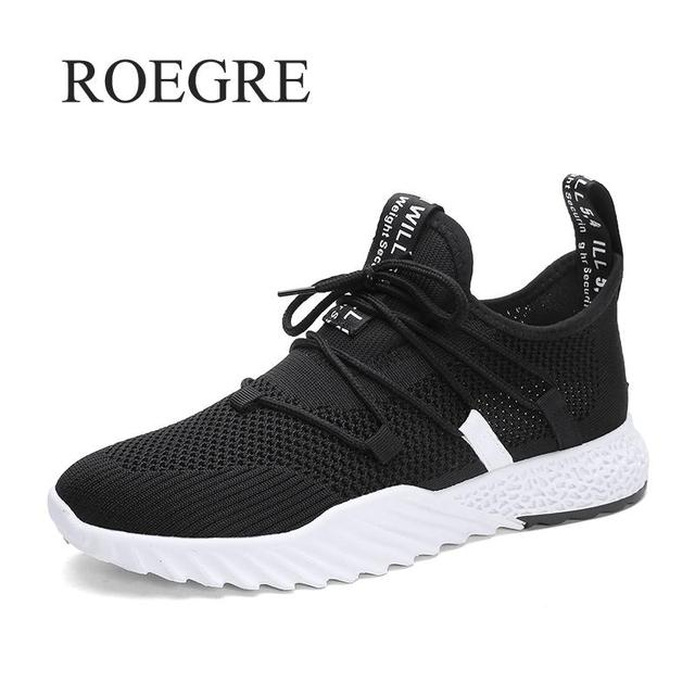 2019 New Casual Shoes Men Breathable Autumn Summer Mesh Shoes Sneakers Fashionable Breathable Lightweight Movement Shoes 2