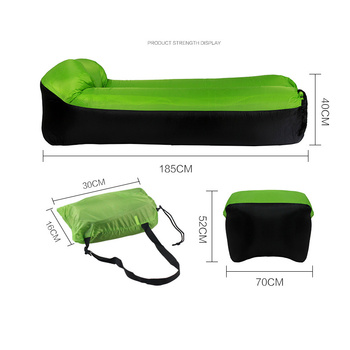 Inflatable Lounger Air Sofa Portable Waterproof Couch for backyard Lakeside Beach Traveling Camping Picnics Music Festivals 6