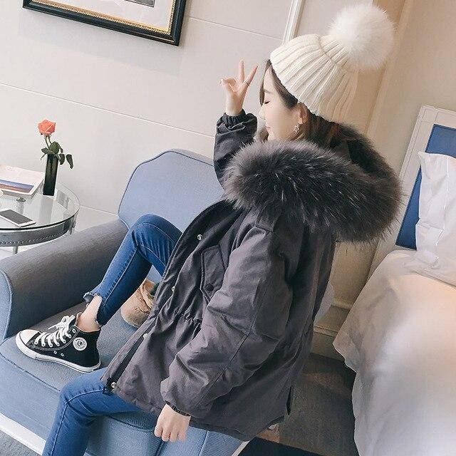 2019 New arrival fashion Korea style damska kurtka zimowa