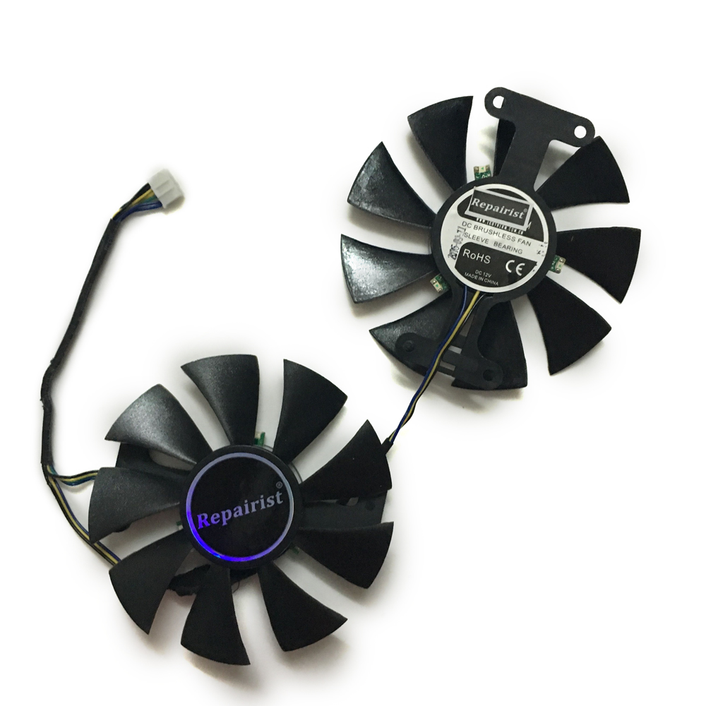 Repairist 2 teile/los Geforce GTX950 GTX960 GPU grafikkarten kühler ...