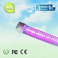 Großhandel 1200mm T8 integrierte led-röhre wachsen lichter smd2835 120 LEDs indoor garten aussaat hydroponischen vertikale pflanzen gemüse