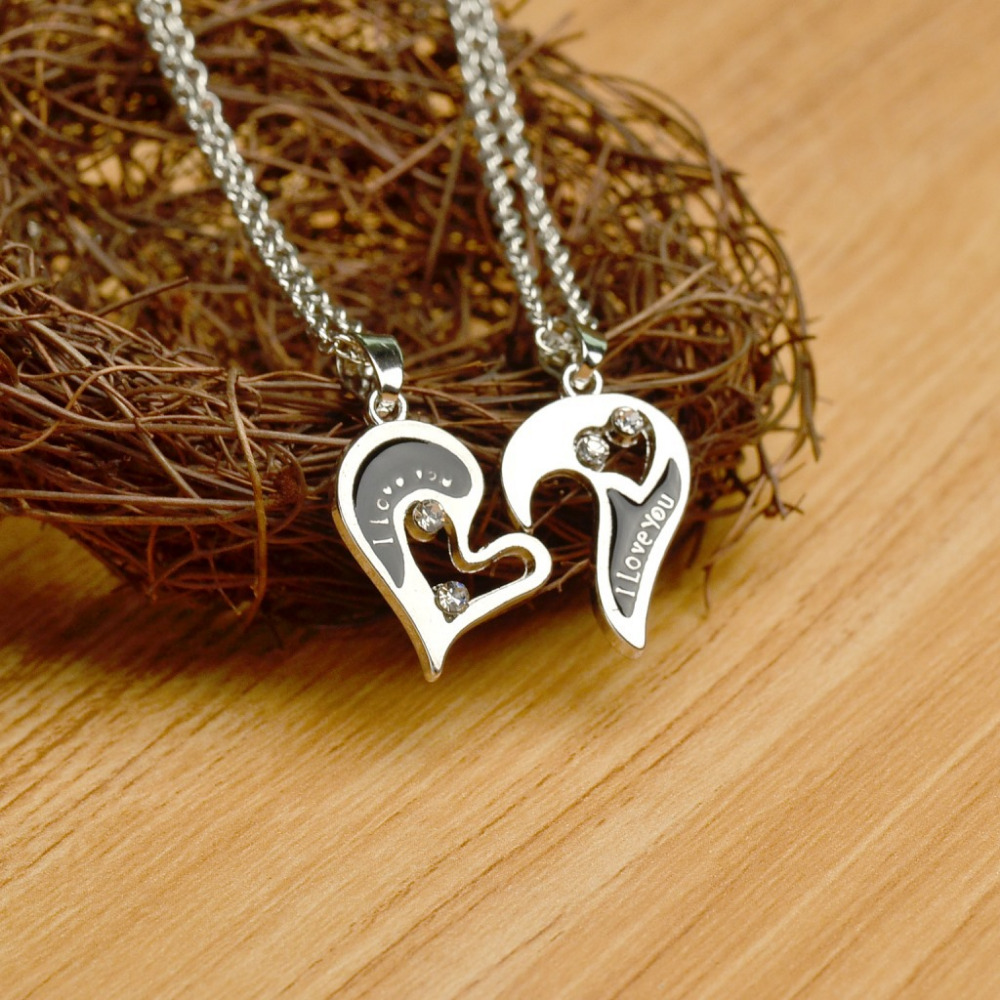 lover couple necklaces