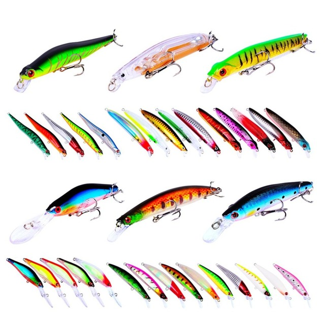 ilure fishing lures 33pcs/set Artificial minnow 115mm 395g fake bait 2018 model
