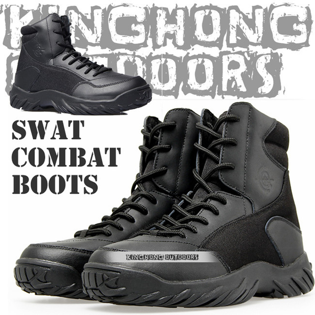 Men&39s Lace Up Breathable DESERT Hiking boots Army Military Boots