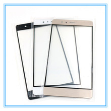 10pcs/Lot New A High Quality Front Glass Replacement Cover Touch Screen Outer Glass Lens For Huawei Ascend P9 5.2inch with logo
