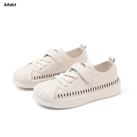 AAdct 2018 Autumn Leather Casual sports children shoes Flats Breathable sneakers shoes for Boy`s High quality School Kids shoes
