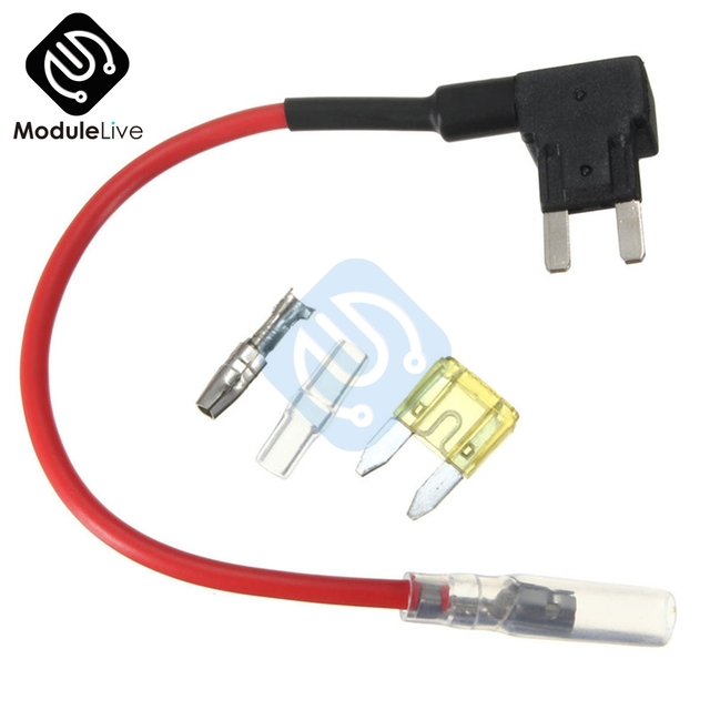 Small ACS Add A Circuit Piggy Back Pluggable Standard Blade Tap Fuse Holder