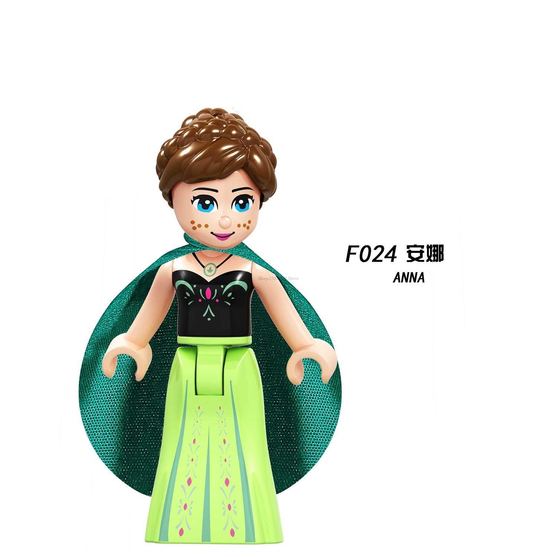 Friends Figures F024 TOM ANNA Cinderella Martina Princess Friend For Girls Building Blocks Kids Toys Gift DIY Legoing Friend Set
