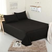 3pcs flat Sheet set 100% Cotton bedding bedsheet+2pillowcases sheets set comfortable set sheet sets