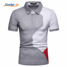 Covrlge Men Summer Fashion Camisa Polo Shirts High Quality Short Sleeve Mens Shirt Brands Breathable Brand Tee Tops MTP117