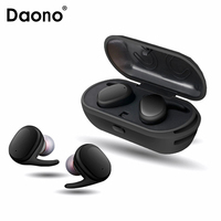 Bluetooth Touch Control Hifi Earphone With Mic TWS Wireless Earbuds Stereo Microphone For Phone With Charger